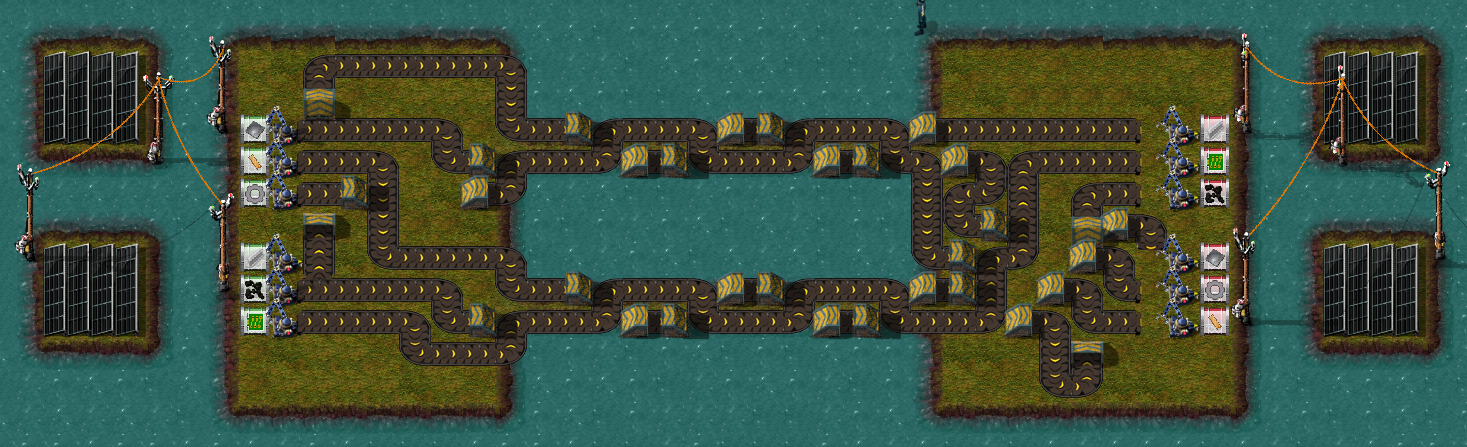 Transport Belt Madness Solutions Factorio Forums